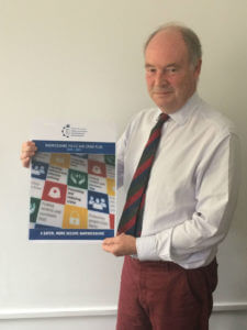 Warwickshire PCC Philip Seccombe with the Police and Crime Plan