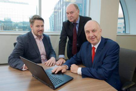 West Mercia PCC John Campion, Warwickshire PCC Philip Seccombe and West Midlands PCC David Jamieson launch the 2016 Regional Cybercrime Survey