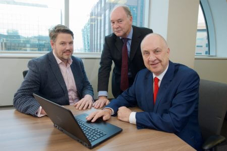 West Mercia PCC John Campion, Warwickshire PCC Philip Seccombe and West Midlands PCC David Jamieson launch the 2016 Regional Cybercrime Survey