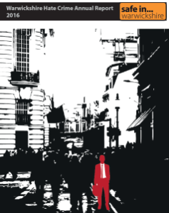 Hate Crime Annual Report cover
