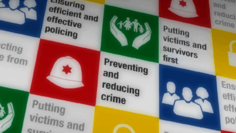 Police and Crime Plan priorities graphic