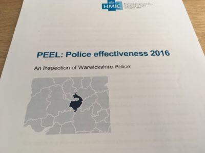 HMIC PEEL Police Effectiveness Report 2016
