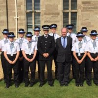 Warwickshire Police Cadets passing out ceremony