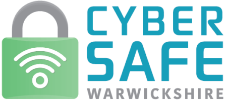 Cyber Safe Warwickshire logo