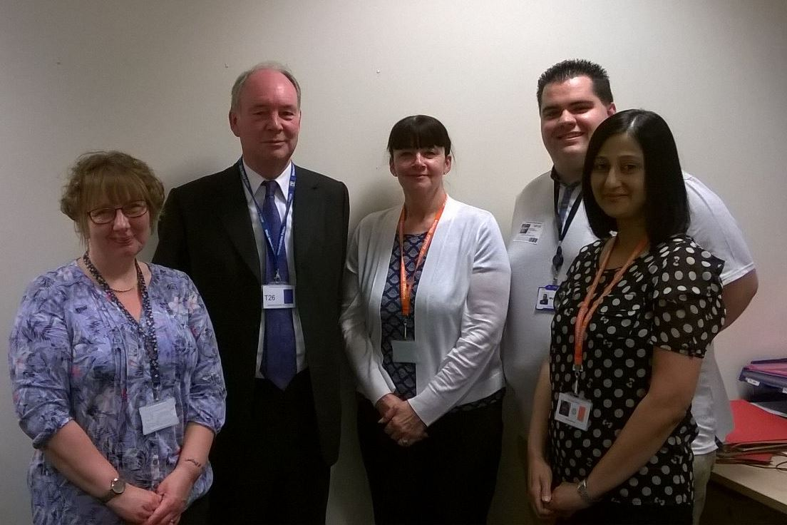 Meeting with Victim Support at Nuneaton Justice Centre