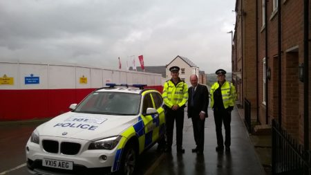 On patrol with PC Dave Dyde and PC Andy Morrissey.