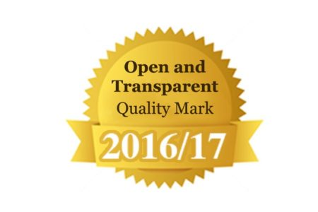 CoPACC Open and Transparent Quality Mark 2016/17