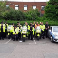 A successful day with the help of @RugbyCops and @ForceOpsTasking taking illegal vehicles off the road.
