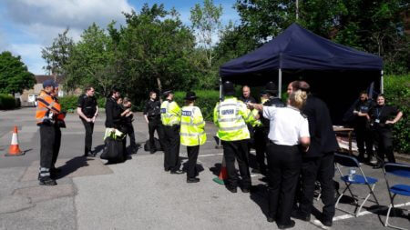 Specials from across the North briefing for a day of traffic checks.