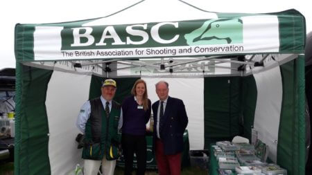 Good chance to catch up with BASC and discuss the gun licence process and the improvements which have been by Warwickshire Police. — with BASC - The British Association for Shooting and Conservation.