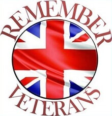 Remember Veterans logo