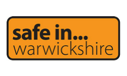 Safe in Warwickshire logo