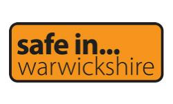 Safe in Warwickshire logo