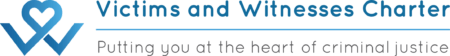 Victims and Witness Charter Logo