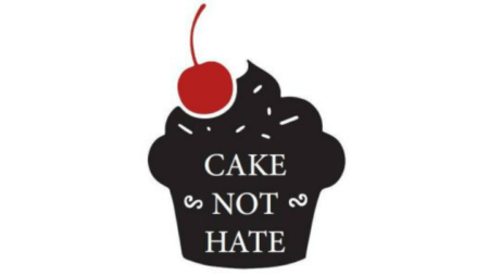Cake not Hate banner