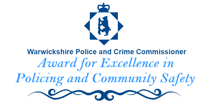 PCC Award for Excellence in Policing and Community Safety banner