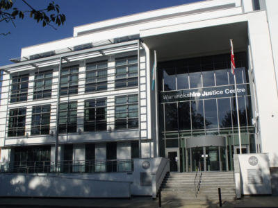 Warwickshire Justice Centre in Newbold Terrace, Leamington Spa. Picture by Elliot Brown used under a Creative Commons License.