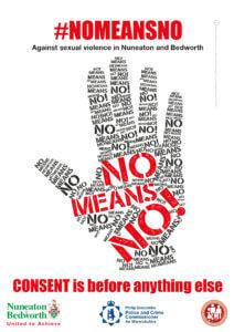no means no poster