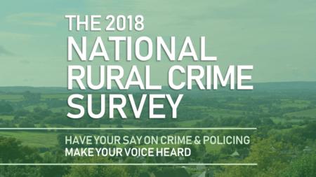 National Rural Crime Survey 2018 banner