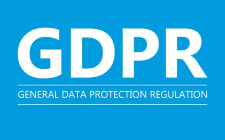 General Data Protection Regulation (GDPR) banner