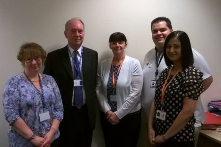 Meeting the Victim Support Team in Leamington