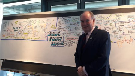 Warwickshire Police and Crime Commissioner at a regional drugs policy summit
