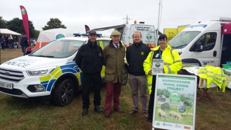 warwickshire rural crime project