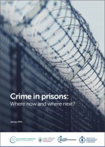 Crime in prisons - where now and where next cover