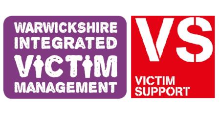 Warwickshire Integrated Victim Management with Victim Support logo