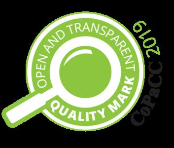 CoPaCC Quality Mark 2019 logo