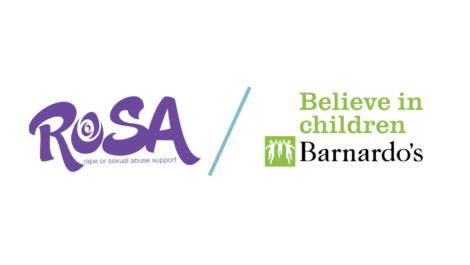 Barnardo's / Rosa logos