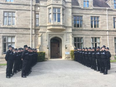 warwickshire police force event