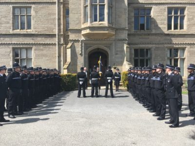 unveiling of warwickshire police new force