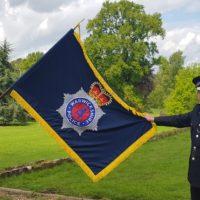 Warwickshire police flag