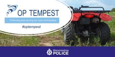 OP Tempest protecting and serving our rural communities warwickshrie police