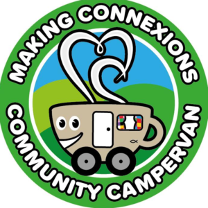 The Making Connexions Community Campervan logo
