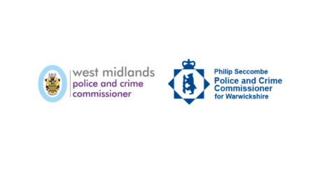West Midlands PCC and Warwickshire PCC logos