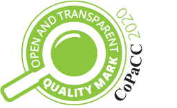 CoPaCC 2020 Open and Transparent Quality Mark logo