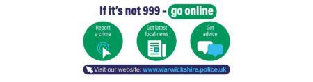 If it's not 999 - go online