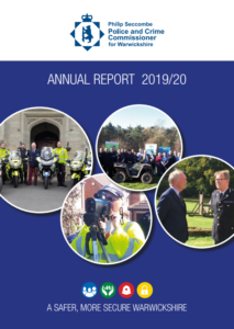 Cover of the Annual Report2019/20