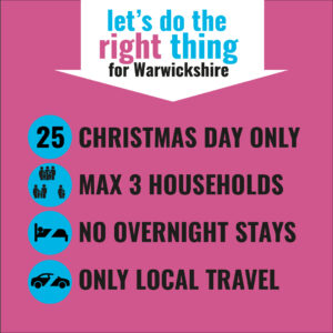 Let's do the right thing - rules for the Christmas bubble.  Applies Christmas day only.  Max 3 Households. No overnight stays. Only local travel.