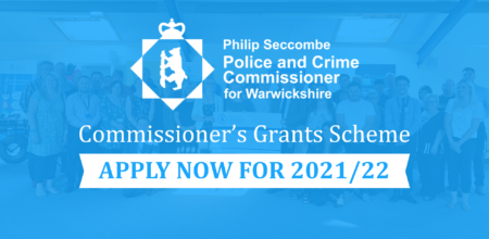 Commissioner's Grants Scheme: Apply now for 2021/22