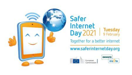 Safer Internet Day, 9 February 2021. Together for a better internet. www.saferinternetday.org