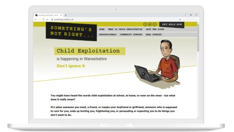 The Something's Not Right website