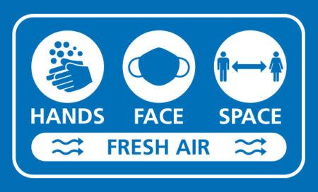 Hands, Face, Space, Fresh Air