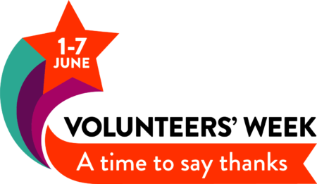 Volunteer's Week logo 2021: A time to say thanks