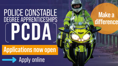 Police Constable Degree Apprenticeships - applications now open