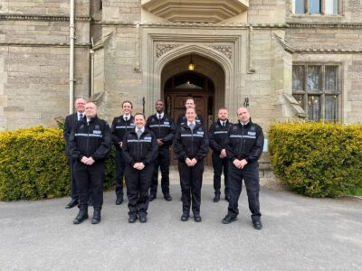 Special Constables at an attestation ceremony