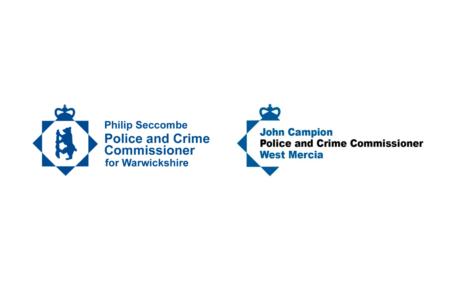 Warwickshire OPCC and West Mercia OPCC logos